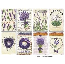 Zestaw papierów MINI 24 szt. - Lavender - LAV