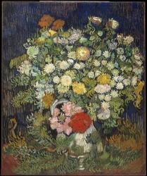 Reprodukcja bouquet of flowers in a vase, vincent van gogh