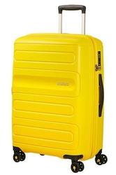 Walizka american tourister sunside 68 cm powiększana - yellow