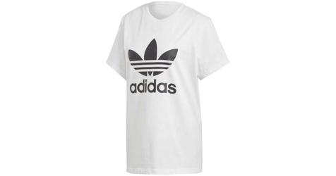 Adidas originals boyfriend trefoil dx2322 42 biały