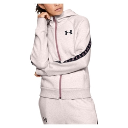 Bluza damska under armour fleece taped wm fz hoodie