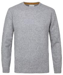 Sweter szary melanż s
