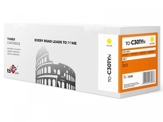 Tb print toner do oki c301 to-c301yn ye 100 nowy