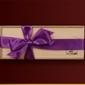 Czekoladki fioletowa wstążka 38 mm