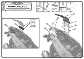 Kappa 777kit adapter do montazu stelaży klx208 oraz klxr208 bez użycia stelaża centralnego