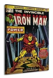 Iron Man Power - Obraz na płótnie