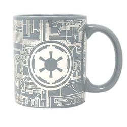Star wars gwiezdne wojny death star surface - kubek metalizowany