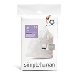 Simplehuman - worki na śmieci 20 szt. - rozm. d 20l
