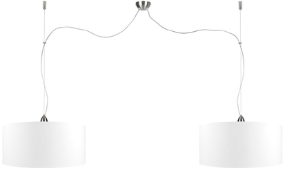 Its about romi :: lampa wisząca rome biała śr. 47 cm