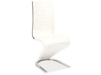 Krzesło h-134 biało-czarne
