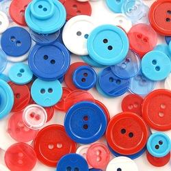 Kolorowe guziki 3 wielkości200szt. - mix v - mixv