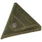 Skórzana bilonówka coin wallet brodrene cw01 oliwkowy - oliwkowy