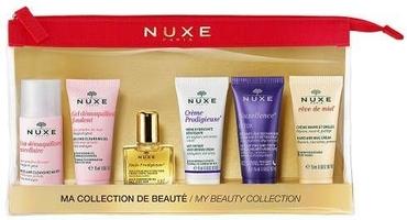 Nuxe zestaw podróżny 5 miniproduktów + kosmetyczka gratis
