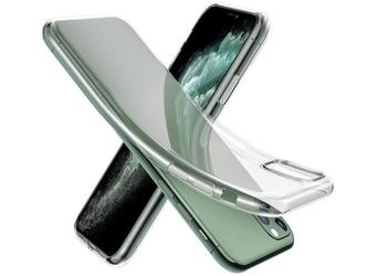 Etui silikonowe przezroczyste do apple iphone 11 pro max