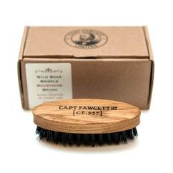 Captain fawcett podróżny dębowy kartacz szczotka do wąsów włosie dzika