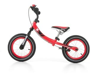 Milly mally young red rowerek biegowy pompowane koła + prezent 3d