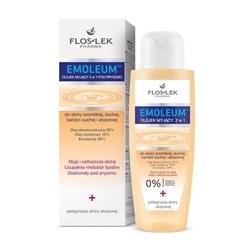 Floslek emoleum olejek myjący 2w1 do skóry szorstkiej, suchej i atopowej 200ml