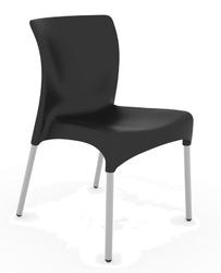 Krzesło moon - czarny