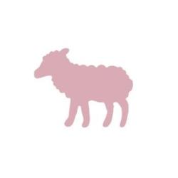 Dziurkacz ozdobny z dźwignią 1,5 cm - owieczka - OWI
