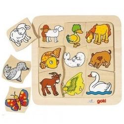 Goki puzzle znajdź parę