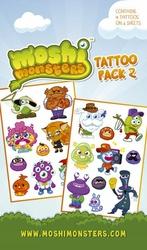 Moshi Monsters Characters - tatuaż