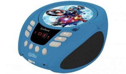 Boombox avengers odtwarzacz cd aux mic jack