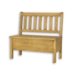 Ławka z oparciem 150 cm Cevilo I drewniana
