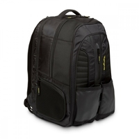 Targus work + play rackets 15.6 laptop backpack - czarnyżółty