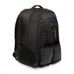 Targus work + play rackets 15.6 laptop backpack - czarnyżółty