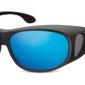 Okulary z polaryzacją hd fit over dla kierowców, na okulary korekcyjne fo3h