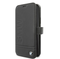 Bmw etui book bmflbksn61llsb iphone 11 czarny signature