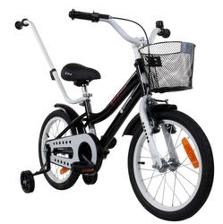 Sun baby junior bmx 16 czarny rowerek dla dziecka + prezent 3d