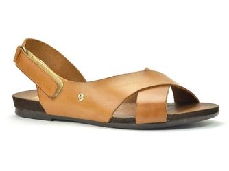 Sandały lemar 40141 bf. brąz