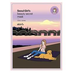 Skin79 kojąca maska w płacie seoul beauty mask soothing care 20g
