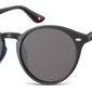 Okulary okrągłe czarne lenonki s20