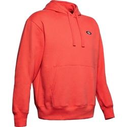 Bluza męska under armour performance originators fleece hoodie - czerwony