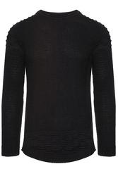 Sweter - czarny 27003-1