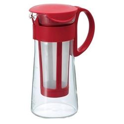 Hario - mizudashi coffee pot mini - czerwony