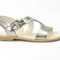 Sandały  lamanti 501  srebro 46