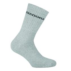 Skarpetki diadora unisex tennis socks 3 pairs per pack - szary