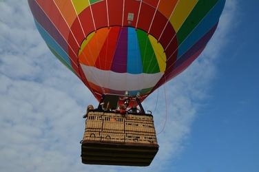 Rodzinny lot balonem - wrocław