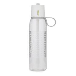 Joseph joseph - butelka na wodę dot active 750 ml, biała - biały