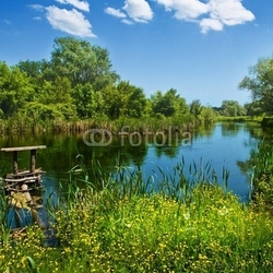 Tapeta ścienna letni krajobraz