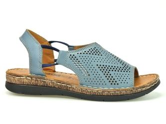 Sandały loretta l06207-22 denim