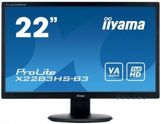 IIYAMA 22 X2283HS-B3 VA,HDMI,DP,2x1W,SLUCHAWKOWE WEJ.
