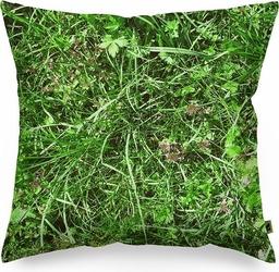 Poduszka foonka alpejska łąka 40 x 40 cm z wypełnieniem z łusek gryki