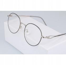 Okulary lenonki z filtrem niebieskim blue light do komputera zerówki 2541-5