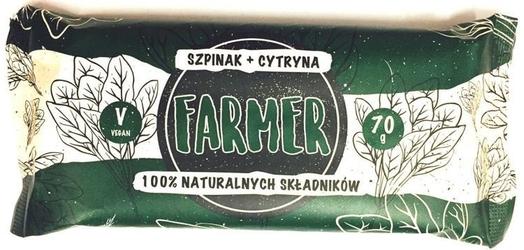 Farmer szpinak+cytryna baton 100 naturalnych składników 70g