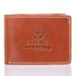 Super cienki portfel męski paolo peruzzi skórzany brązowy