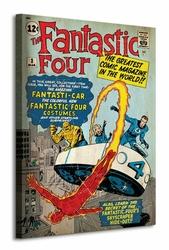 Fantastic Four Marvel Comics - Obraz na płótnie